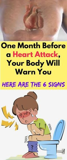 ONE MONTH BEFORE THE HEART ATTACK, YOUR BODY WILL WARN YOU – HERE ARE THE 6 SIGNS