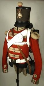 Nearly Complete Enlisted Soldier's Uniform of the Crimean War – 19th Regiment of Foot (The Green Howards)