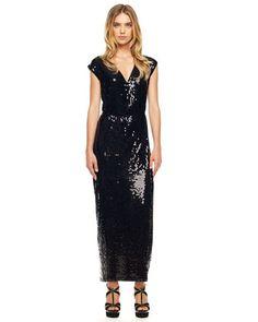 MICHAEL Michael Kors  Sequined Maxi Dress.