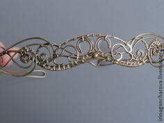 Tiaras, handmade hoops.  Fair Masters - handmade Tiara Persia.  Handmade.