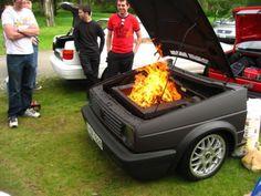 VW Mk2 Golf Bbq