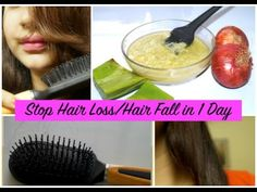 Stop #Hair #Loss   Hair #Fall in 1 Day - Secret Hair Mask + 4 Effective Tips to Control Hair Fall