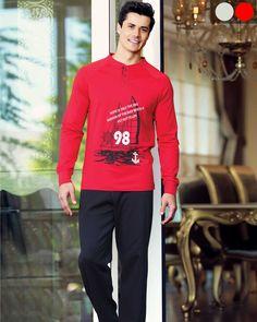 Şahinler Patlı Reglan Kol Pijama Takım Graphic Sweatshirt, T Shirt, Sweatshirts, Long Sleeve, Sleeves, Sweaters, Mens Tops, Fashion, Supreme T Shirt