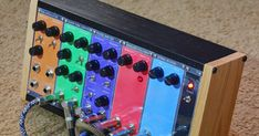 Here's a dump of layouts, pics and info about my EPFM modular build. I didn't include any of the schematics in this post. They are eas... Electronic Circuit, Electronics Projects, Pretty Cool, Diy And Crafts, Layouts, Instruments, Electric, Building, Ideas