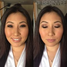 Wedding Make-Up for Asian/Mono-lid eyes