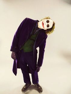 Heath Leger as Joker <3   Tumblr