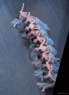 New York City Ballet, ballerinas, dancers, stage, performance / Garance Doré. Great moment from Serenade. Ballet beauties, sur les pointes !