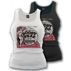 Booby Trap Womens Tank Top