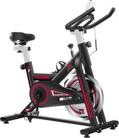 DGQHME Indoor Stationary Spin Exercise Bike Review | Just New Releases Home Gym Machine, Exercise Bike Reviews, Gym Machines, Spin Bikes, Outdoor Store, Workout Session, Flat Tummy, No Equipment Workout, Gym Workouts