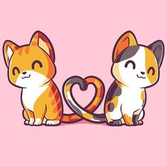 Purrfect Together T-Shirt TeeTurtle