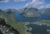 Lofoten: bij helder weer een fantastisch uitzicht…