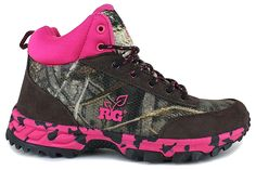 #New Realtree Girl Max-5 Camo Hiker #Realtreegirl