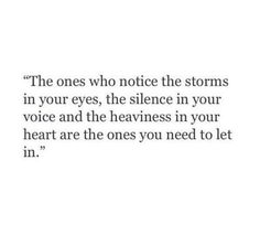 The ones you need to let in •