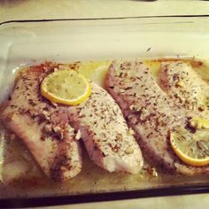 According To Jax: Lemon Garlic Tilapia Recipe