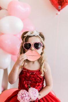 Little Galentine's girl's Valentine's party Valentine Mini Session, Valentines Day Photos, Valentines Day Party, Valentines For Kids, Valentines Outfits, Valentine's Day Quotes, Love Declaration, S Girls, Little Girls