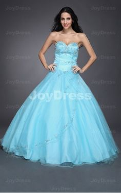 buy dresses at www.joydress.co.uk  Sequin Ball Gown Sweetheart Floor-length Dress