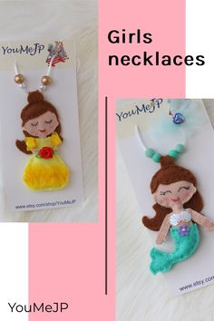 Princess will delight with our themed necklace gift sets