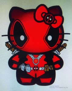 So want this #tattoo #hellokittydeadpool #hellokitty #deadpool #comicnerd #fangirl #hugefangirl #rocking #nerdgirl #nerdlover #marvel #marvelsuperheroes
