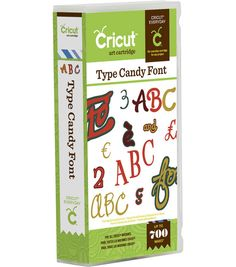 Cricut Everyday Cartridge, Type Candy & Dies & Accessories at Joann.com