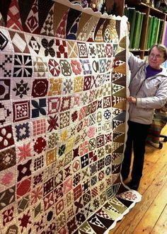 Little Quilts Blog - Dear Jane quilt