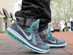 """The Nike Lebron 9 Low """"Easter"""" Colorway. More at www.tblakeraps.com"""