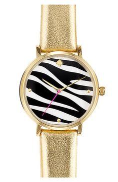 zebra + gold + @kate spade new york