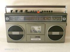 Videoton RM5632, Hungary Radios, Tape Recorder, Boombox, Tech Gadgets, Mixtape, Childhood, Vintage, Consumer Electronics, Nostalgia