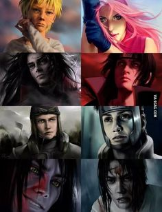 Some serious Naruto fan art here. I'm just sayin they should make a couple of movies and who cares if the actors are Asian or not so long as their good ones, like Dylan o'Brien bc at least one of these pics looks like it could be him.