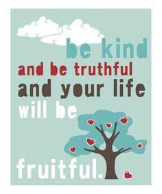 'Fruitful Life'
