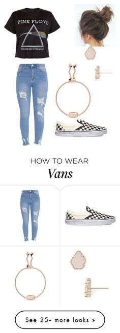 """""""Untitled #3"""" by cayleed-1 on Polyvore featuring Vans and Kendra Scott"""