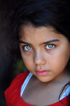 Niña egipcia