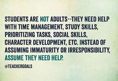 Good reminder. (via TeacherGoals)