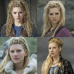 """The culture, history and costume of the northern peoples, the so-called Vikings, inspire people worldwide today. The series """"Vikings"""" African Hairstyles, Braided Hairstyles, Wedding Hairstyles, Viking Hairstyles, Hairstyles Men, Fancy Hairstyles, Vikings Hair, Lagertha Hair, Viking Braids"""