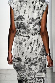 3d35561df Suno Fall RTW 2012 Textile Prints, Textile Patterns, Textile Design, Print