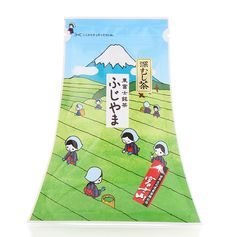 Japanese tea packaging - FUJIYAMA