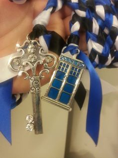 Doctor Who Tardis  Inspired Wedding  Hand by DivinityBraid on Etsy