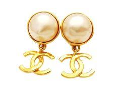 d5e5e45ae Chanel vintage Chanel Earrings Price, Vintage Chanel Earrings, Chanel  Jewelry, Chanel Box,