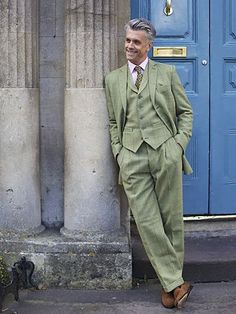 Bespoke Suit (Strathspey R1053-I11; shoes by Billy Ruffian)