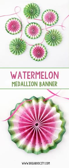 DIY Watermelon Medal