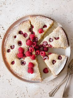 Raspberry Lemon Poppy Seed Cake