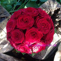 Rose rokoko brudebuket