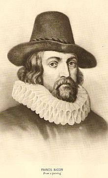 Francis Bacon - English philosopher, statesman, scientist, lawyer, jurist, author and pioneer of the scientific method, which is fundamental to natural philosophy. I wonder how many ° of separation Kevin is from him-Lol