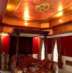 Luxurious bedroom living.....