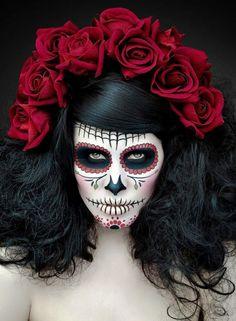 #calaca #avant garde #makeup