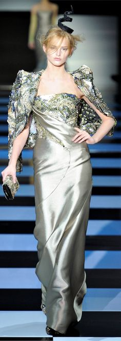 Armani Privé Haute Couture Spring Summer 2012 collection | The House of Beccaria