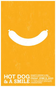 Hot Dog & a Smile on Behance
