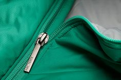 gorgeous zip pull with subtle branding hit