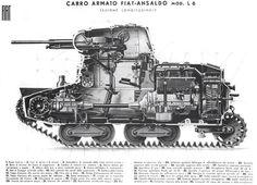 armato L6/40 Italian ww2 tank
