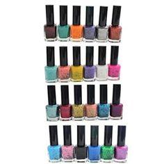KurtzyTM Lot de 24 Vernis à Ongles Tachetés de 12ml pour Manucure et Pédicure Nail Art