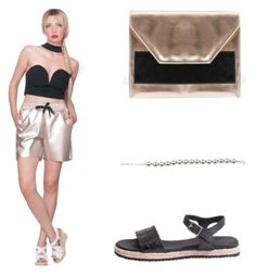 """""""Summer Night"""" by inforevolutionstyle on Polyvore featuring moda"""